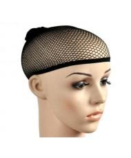 Черная сетчатая шапочка для волос
