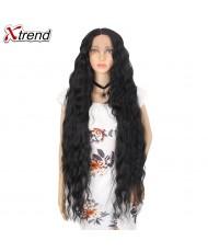 Волнистый парик на сетке 100 см