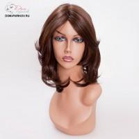 Искусственный моно-парик без челки с легкой волной