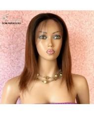 Женский парик из натуральных человеческих волос