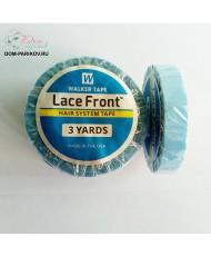 Синяя двусторонняя лента для фиксации 1 см