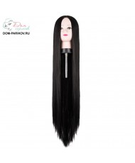 Длинный прямой парик из термоволокна