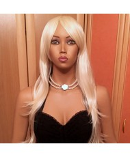 Роскошный длинный парик блондинка