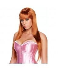 Рыжий парик длинная градуированная прическа SCARLET LAVISH