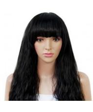 """Длинный волнистый парик с челкой """"Baby Girl"""""""