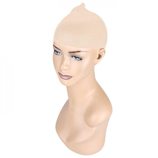 Телесная сетка для волос под парик