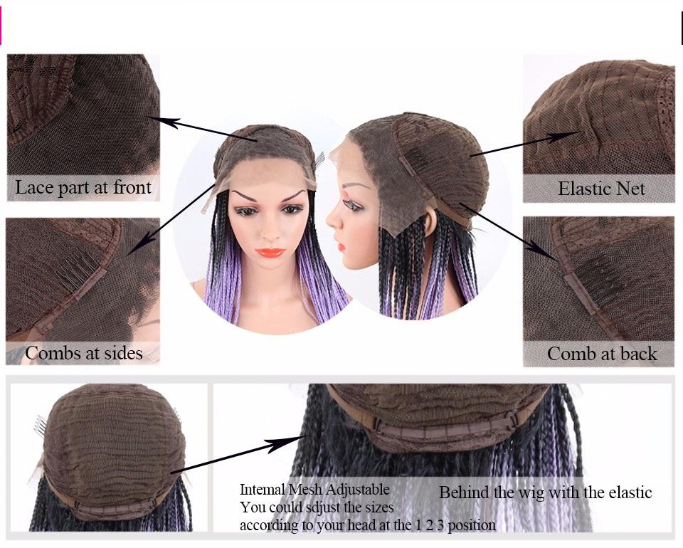 Парик волнистый на сетке длинные волосы