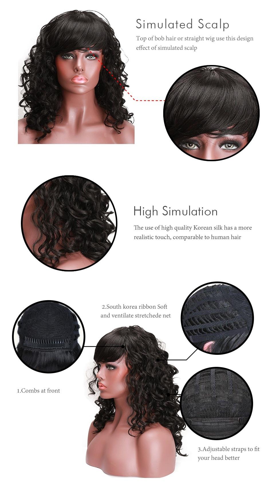 Характеристики искусственного термостойкого парика